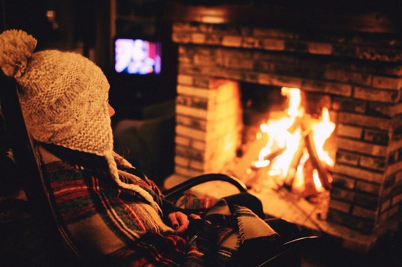 Flame Heat - Temperature Night Indoors  Burning Music Leisure Activity Real People One Person Home Interior Men Illuminated Vacations Close-up Musical Instrument Human Leg Human Hand Human Body Part People EyeEmNewHere