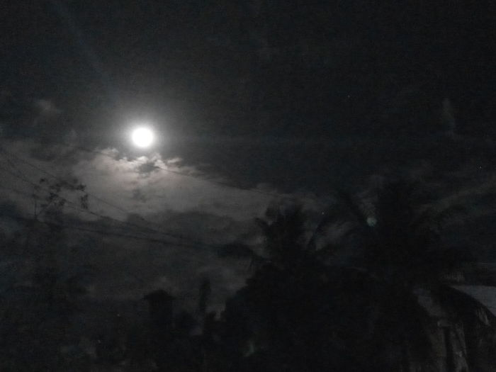 Moon Night No People Moonlight Outdoors