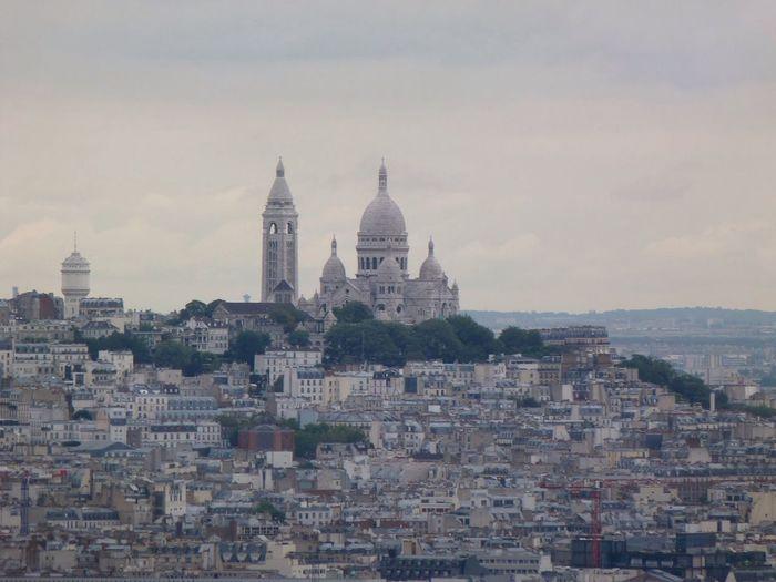 France Paris Churches City Architecture