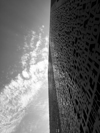 ☁️🏢☁️ Sky No People Architecture Low Angle View Cloud - Sky Built Structure Nature Pattern Day Building Exterior Outdoors Water City Building Reflection Tall - High Sunlight Office Building Exterior Modern Digital Composite