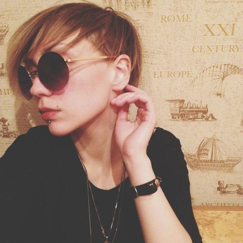 Woman Glasses Style