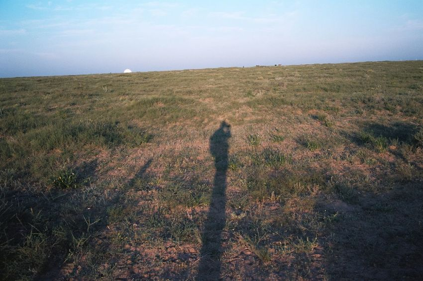 Film Photography Nature Grass Real People Field Standing One Person Sky Landscape Tranquility Walking Growth Beauty In Nature Outdoors Lifestyles Scenics Day Full Length Mammal People