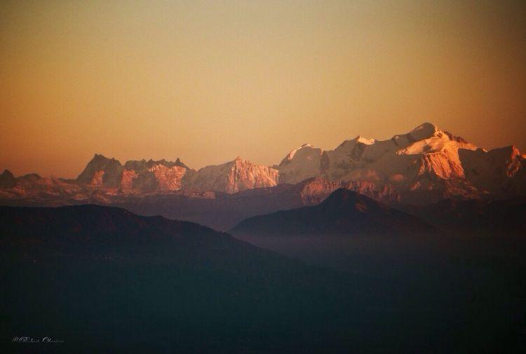 Mt Blanc Alps Mountains Landscape