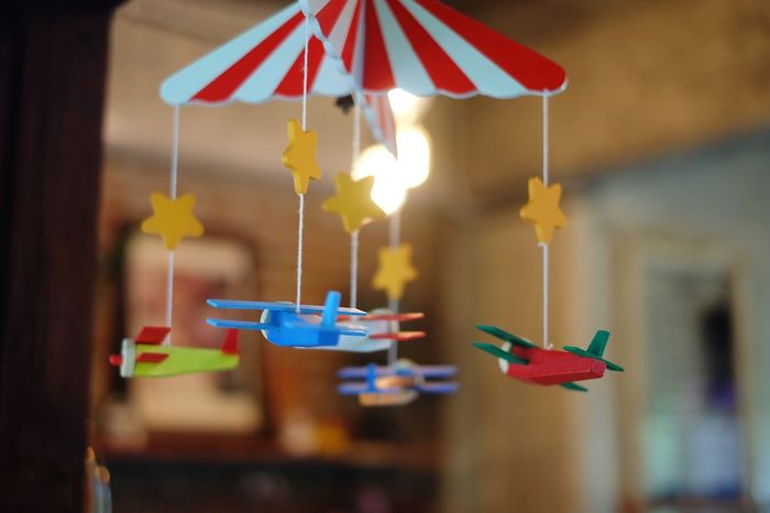 Toy for kids Toys #kids Playing #kids #children #KidsAtWork #kidslife #Giingzpappa #toy #Thailand Hanging Multi Colored Flag Close-up Kite - Toy