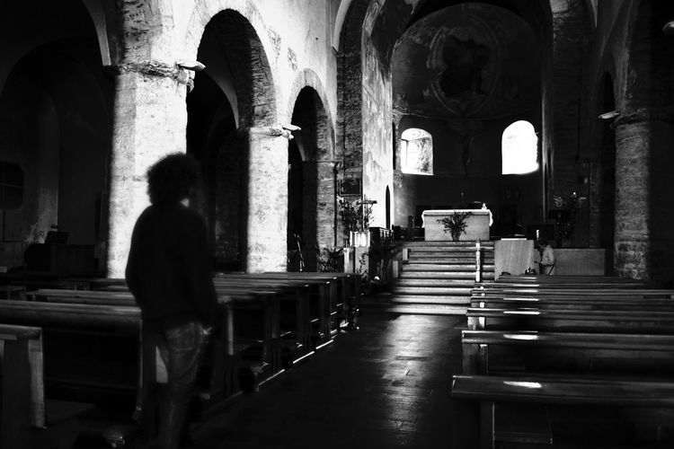 Chiesa Cathedral Italia Santi Blackandwhite