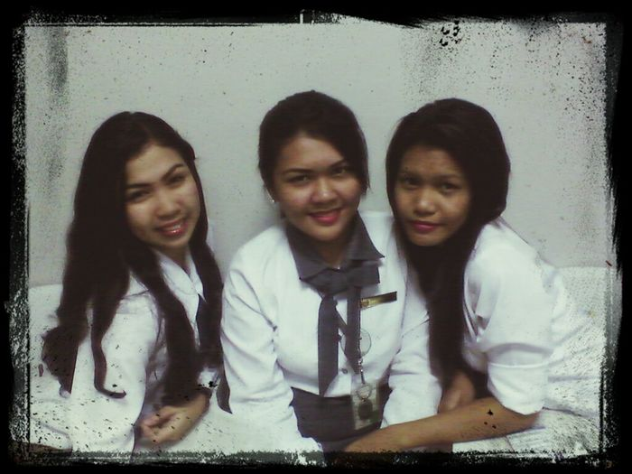 with friends at school :)
