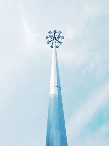 The Drive Clear Sky Low Angle View Sky No People Day Built Structure Outdoors Alternative Energy Windmill Renewable Energy Architecture Wind Turbine Blue