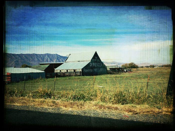 Barn Near Logan Utah