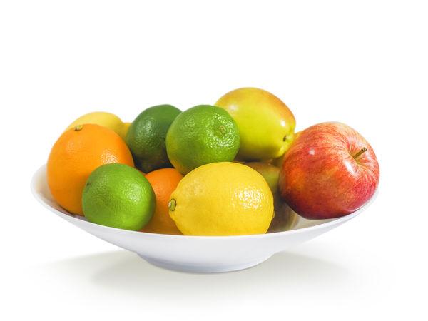 A bowl of mixed citrus fruits Eating Limes Orange Bowl Citrus Fruit Clipping Path Fuit Healthy Eating Lemon Lemons Lime