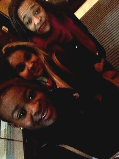 Me & the girls tonight