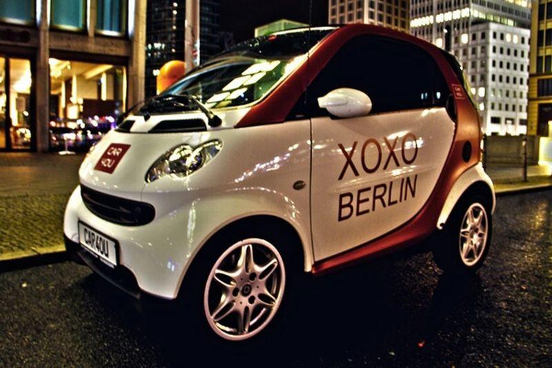 car4ou - Your Day, Your Car Car4ou CAR2GO Carsharing Berlin Car Rental Smart Fortwo Xoxo