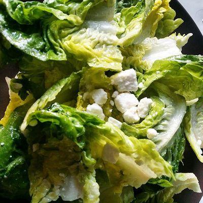 Yay ! Et sans souci de toxo, la bonne salade est mon amie 💜