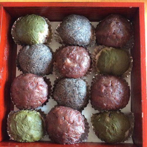 Japanese Food Sweets In My Mouf Enjoying Life Handmade Botamochi Ohagi Food Japan