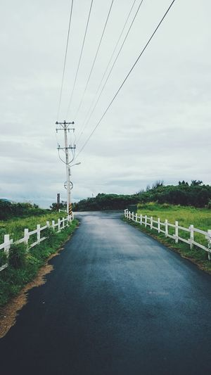 Vacation in Kenting Taiwan Kenting  Country Road Pure Beauty