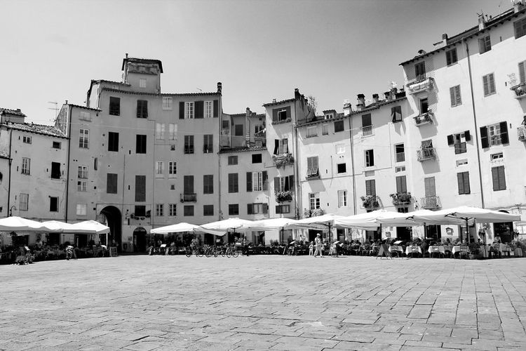 Architecture Large Group Of People History Travel Destinations People Built Structure Building Exterior Photograph Vacations Outdoors City Sky Day Cityscape Adult Adults Only Italy Lucca The Week On Eyem Live For The Story Black And White