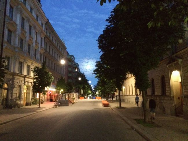 Swedish Moon Moonlight Night Stockholm Swedish Summer Sverige Swedishmoments