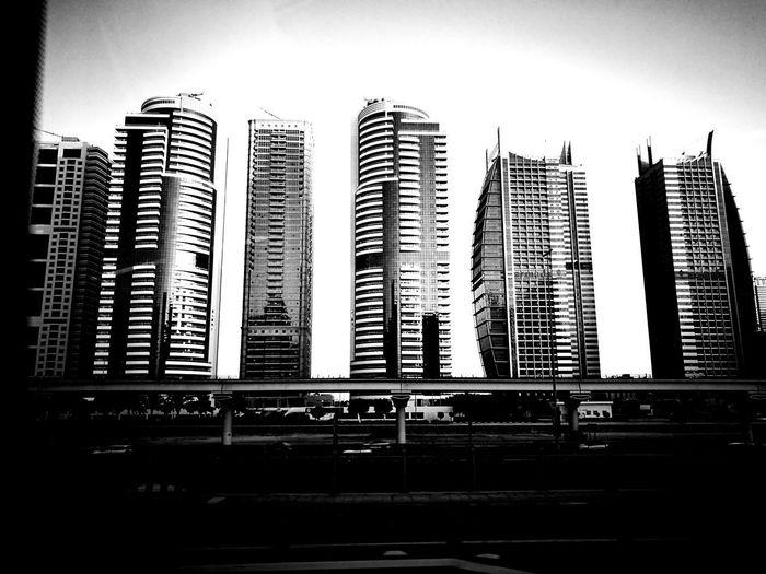 Architecture Building Exterior Built Structure City Cityscape JLT JLT DXB Modern Mydubai MyDubai ❤ No People Outdoors Sky Skyscraper Welcome To Black
