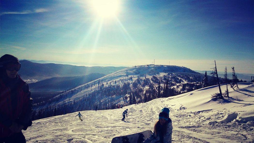 Шерегеш скоро зима сноуборд снежочек
