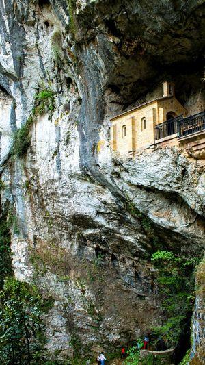Covadonga Hermita Asturias Asturias , Spain ASTURIAS COVADONGA Check This Out EyeEm Gallery Cliffside Cliff Church Catholic Church Check This Out Travel