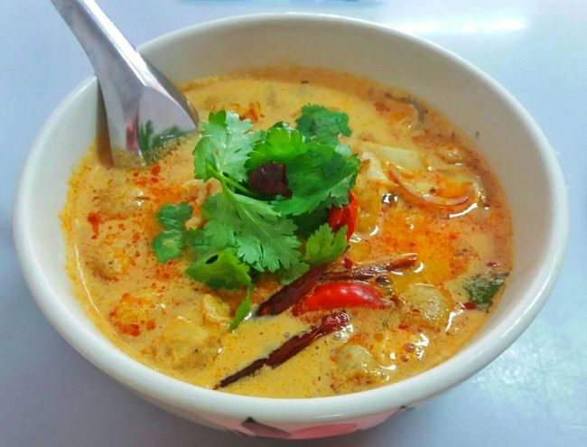 Tom Yam Gai Food Food And Drink Soup Spicy Thai Food Thaifood Thailand Bangkok Bowl Healthy Eating Chicken Meat Herb Lunch Love Delicious Tom Yam Restaurant Foodlover Amazing Thailand Coconut Milk Vegetable Soup Culinary Travel Street Food Vegan Vegetarian Food