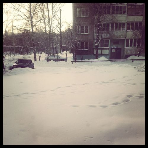 Omg Snow???!!!!