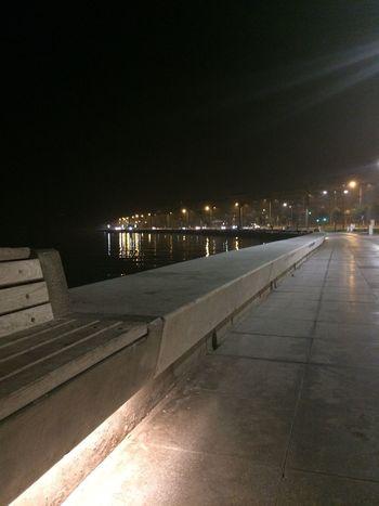 Light Bridge Night Illuminated Architecture No People Outdoors City Black Sky