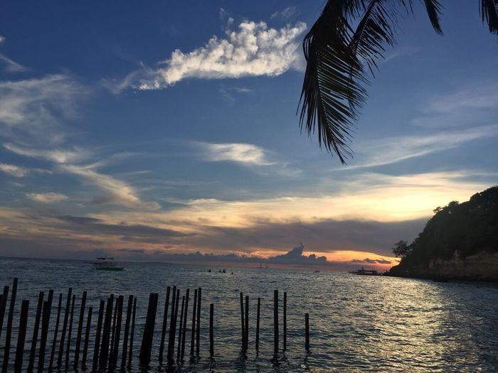 Boracaysunset Sea Sunset Nature Beach
