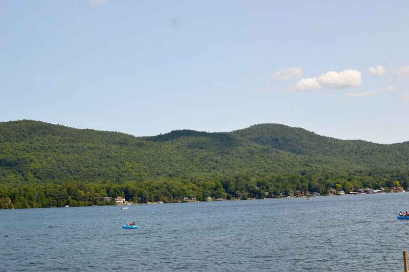 Lake George NY Nature Outdoors On A Nice Day On The Back Of Boat Photography Nikonphotography