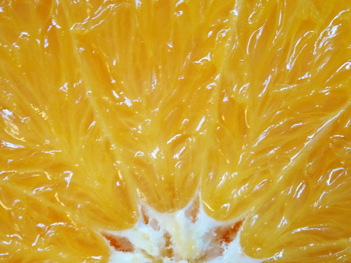Orange section texture Orange Concret Textured  From Center Section Fruit Full Frame Backgrounds Yellow Full Frame Textured  Close-up