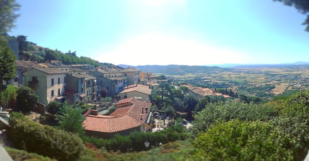 Shot taken on my mobile phone while gazing over a panoramic viewpoint in a Italian town called Norcia Outdoors Tranquility Plant Farm Horizon Scenics Clouds And Sky Agriculture Freshness Rural Scene Cloud - Sky Beauty In Nature Forest Travel Italy Landscape Italy_photolovers Italya Italytrip Italy Food  Italy Vacation
