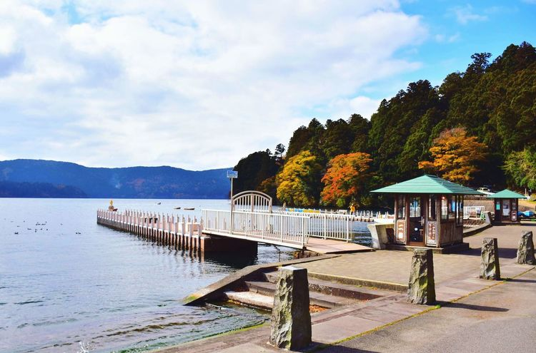 the first place i visited in Japan Japan Ashino Lake
