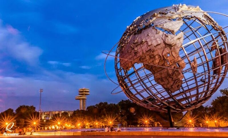 Unisphere Queens New York Corona Urban Landscape Taking Photos NYC Photography Nycprimeshot Long Exposure Architecture