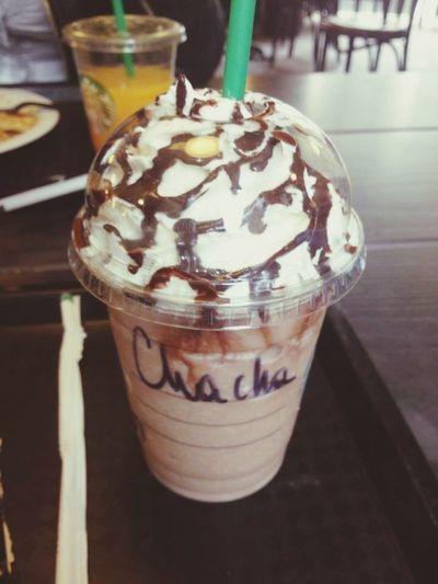 Frappuccino Chocolate Chantilly Starbucks Avec Pamela ❤️ Mon Surnom  Starbucks Coffee Starbucks ❤ Coulis De Chocolat Paris, France  Followme