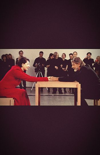 Marina Abramović First Eyeem Photo