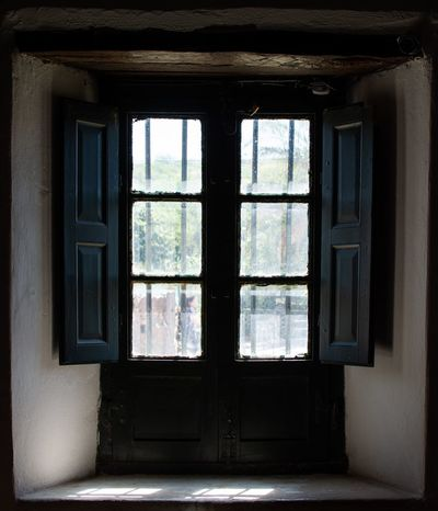 Antique Window Antique Backlight Indoors  Window Architecture Built Structure No People Transparent Safety Old Window Frame