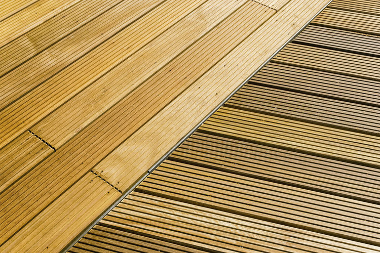 Synthetic wooden outdoor flooring Berlin Germany 🇩🇪 Deutschland Horizontal Mock Architecture Backgrounds Brown Brown Hair Close-up Color Image Faux  Floorboard Flooring High Angle View In A Row No People Outdoors Pattern Plank Striped Synthetic Textured  Wood Wood - Material