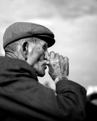 Only Men One Man Only One Person Senior Adult People One Senior Man Only Siyah&beyaz  Konya Portrait Turkish Turkishfollowers Portre Köylüyüm Ben Life Old Man