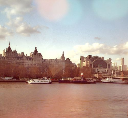 Keep calm and love London Remember Travel View LondonEye River Quiet Moments Clouds And Sky Landscape Relaxing