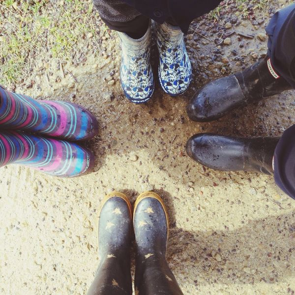 A welly kinda day Welly Walk with friends