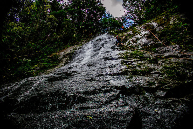 Ecoturismo Meleiro, Brazil Turismo De Aventura Beauty In Nature Day Ecoturism Forest Motion Nature No People Outdoors Scenics Sky Tree Water Waterfall