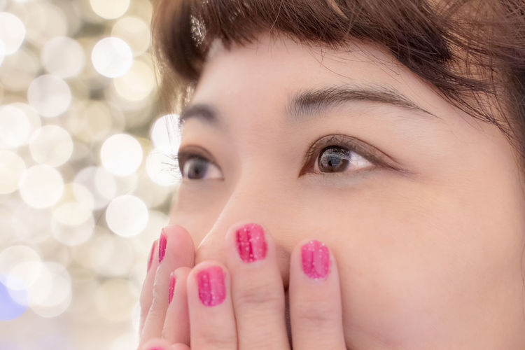 Begonia Garden 名花之里 なばなの里 Shining Eyes Japan Travel Reflection Nagashima Resort EyeEm Best Shots EyeEm Selects EyeEm Gallery One Person Young Adult Headshot Portrait Body Part Close-up Women Human Body Part Beautiful Woman Nail Nail Polish Adult Beauty Indoors  Young Women Focus On Foreground Human Face Looking At Camera Fingernail Hand Positive Emotion Human Lips Finger Hands Covering Mouth Contemplation My Best Photo The Portraitist - 2019 EyeEm Awards