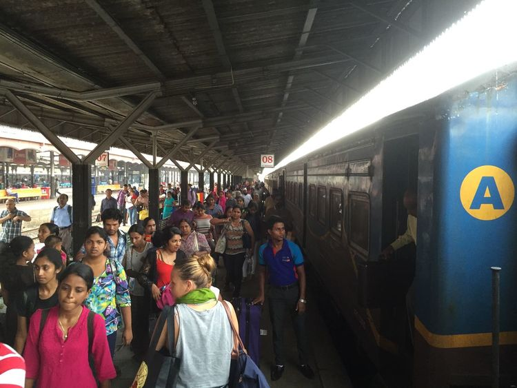 Sri Lank Sri Lanka Sri Lanka Travel Sri Lanka 🇱🇰 SriLanka Train Platform Public Transportation Real People Sri Lankan Train Train Station Train Station Platform Transportation
