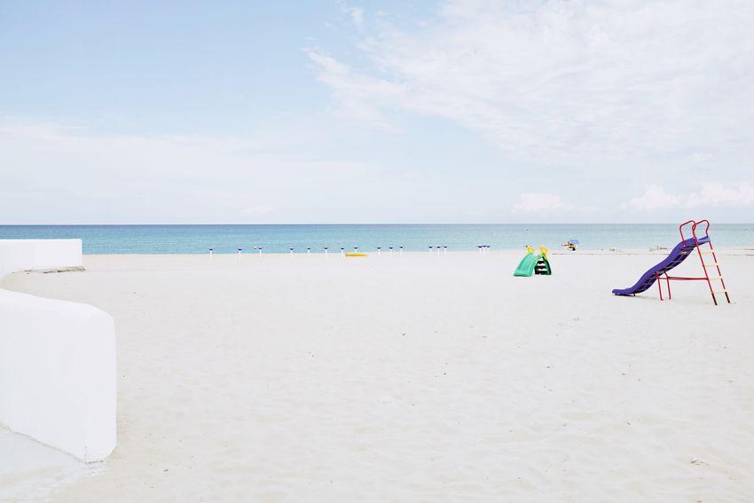 EyeEm Selects Horizon Over Water Beach Sand Sea Sky Minimalism Minimal Minimalobsession FujiX100T Minimalist Atmospheric Mood No People Outdoors Water Beachphotography Beach Photography The Week On EyeEm