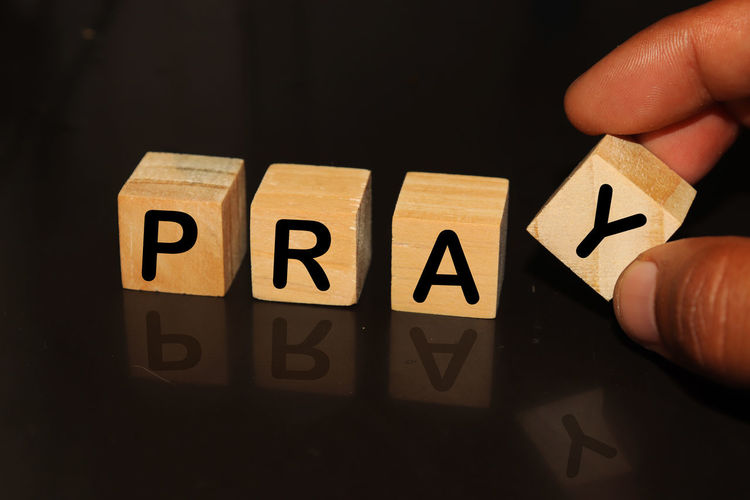 PRAY made with