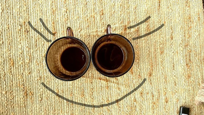 Coffee After Coffee Happy Coffee Smile :) Smile With Me Smile ♥ Cofee Time Cofee In The Morning ☺❤ Silly Face Outdoors EyeEm Gallery Eyem Collection From My Point Of View Dreamer's Vision Just Smile