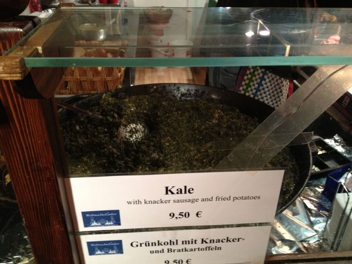 Raght war alle. Darum gibt es heute Kale. #klingonfood