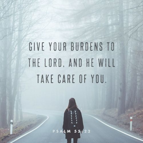 Give all your burdens to the Lord. He knows best what to do with it 😊 Verseoftheday Reminder Of 2017 Keepwalkingforward Keepwalkingwithjesus Psalm FocusonJesus Fixyoureyesonjesus Trustthelord Staystrongnomatterwhat Blessedsunday Blessedandforevergrateful