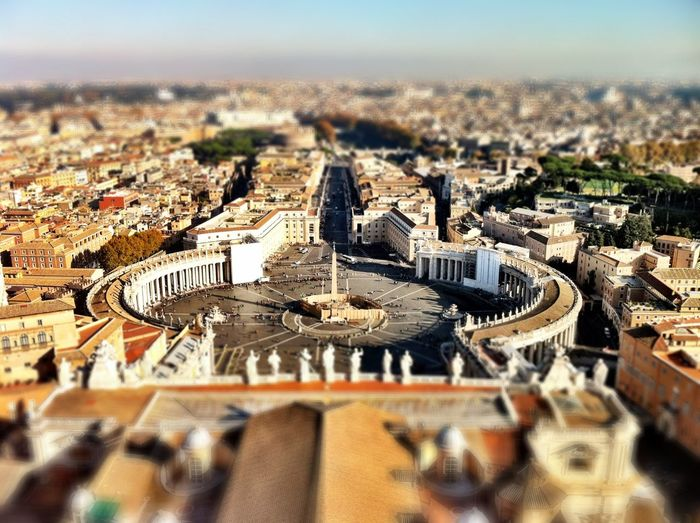 Rome Sct. Peter's Basilica Church Catholic Enjoying The View On Top Architecture City Cityscapes Metropolis