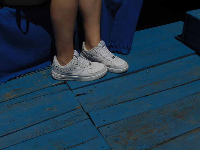 Blue Day Eyeemphoto Floor Flooring Mode Person Shoes Wood Paneling