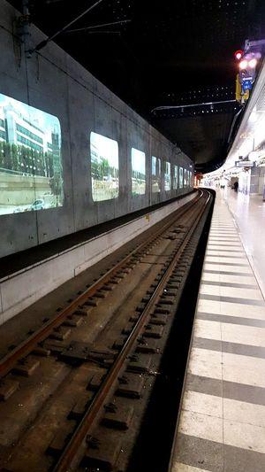 Most fancy station i Scandinavia Subway Public Transportation Running Late First Eyeem Photo
